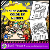 Thanksgiving Activities (Thanksgiving Color By Number)