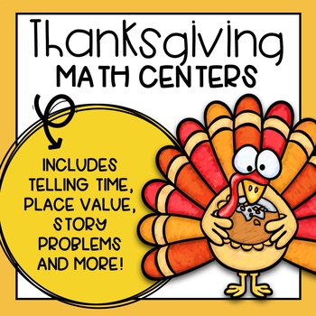 Thanksgiving Math Activities and Centers