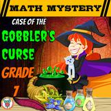 7th Grade Thanksgiving Activity - Thanksgiving Math Mystery Gobbler's Curse