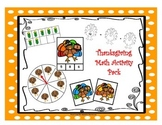 Thanksgiving Math Activity Pack