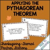 Thanksgiving Math Activity - Pythagorean Theorem
