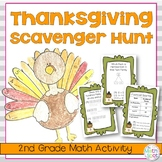 Thanksgiving Math Activity for 2nd Grade