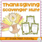 Thanksgiving Math Activity for 3rd Grade