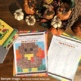 Thanksgiving: Adding and Subtracting Fractions Pixel Art Mystery Pictures
