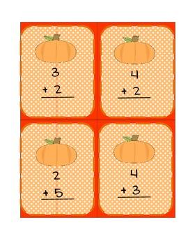 Thanksgiving Math Addition