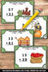 Thanksgiving Math Games Double Digit Addition Activities T