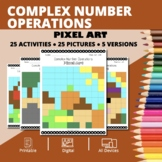 Thanksgiving: Complex Numbers Pixel Art Mystery Pictures