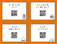 Thanksgiving Math: Algebra QR Code Task Cards