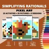 Thanksgiving: Algebra Simplifying Rational Expression Pixe