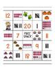 Thanksgiving Math Bingo (Counting)