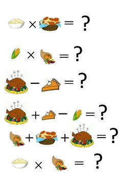 Thanksgiving Math Brain Benders