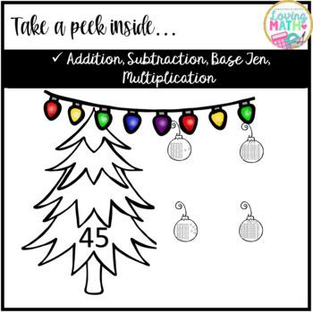 Christmas Math - Build a Christmas Tree