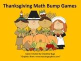 Thanksgiving Math Bump Games
