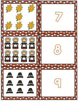 Thanksgiving Math Bundle ~ Prek, Kinder, 1st
