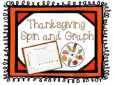 Thanksgiving Math Center Activity: Spin and Graph