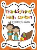 Thanksgiving Math Center Fun