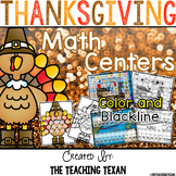 Thanksgiving Math Center Games