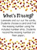 Thanksgiving Math Center - Missing Number