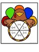 Thanksgiving Math Center - Spin and Dab - Adding 1, Subtracting 1, or Ten Frames