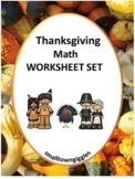 Thanksgiving Math Center Kindergarten Math Special Education Math Fine Motor