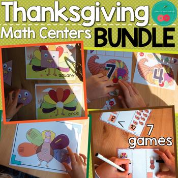 Thanksgiving Math Centers
