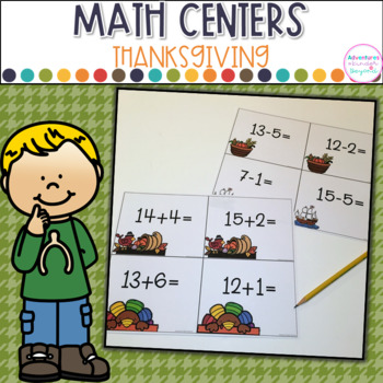 Thanksgiving Math Centers