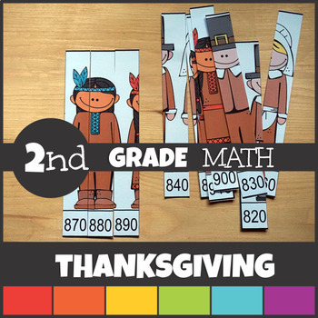 Thanksgiving Math Centers Activities and Worksheets