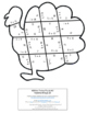 Thanksgiving Math Centers: Addition Turkey Puzzles