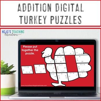 Thanksgiving Math Centers | Thanksgiving Activities | Turkey Craft with Math
