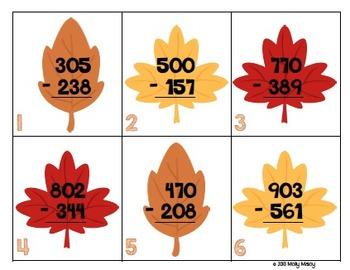 Thanksgiving Math Centers (Grades 3-5)