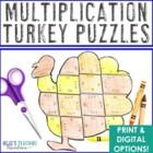 Thanksgiving Math Games | Thanksgiving Activities | Thanksgiving Multiplication
