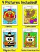 Thanksgiving Math Centers Bundle: Turkey, Pilgrim, Cornucopia, Native American