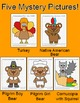 Thanksgiving Activities Coordinate Graphing Mystery Pictures - Thanksgiving Math
