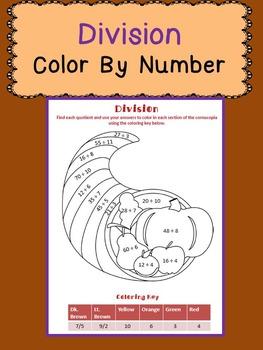 Thanksgiving Math: Division