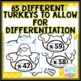 Thanksgiving Math Craft | 2 Digit Multiplication