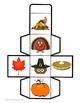Thanksgiving Math Cube Game