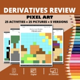 Thanksgiving: Derivatives REVIEW Pixel Art Mystery Pictures