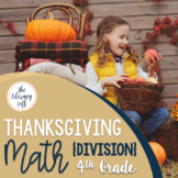 Thanksgiving Math {Division-4th Grade}