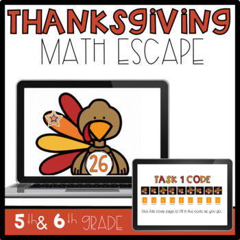 Thanksgiving Math Escape Room Challenge-Class Project/Activity or Intervention
