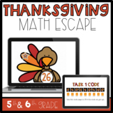 Thanksgiving Math Escape Room Challenge-Class Project/Acti