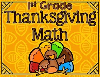 Thanksgiving Math First Grade