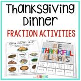 Thanksgiving Math: Fraction Activities