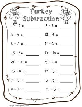 Thanksgiving Math Free