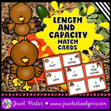 Thanksgiving Math Activities FREE (Length and Capacity Mat
