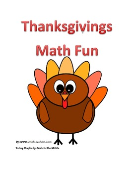Thanksgiving Math Fun For Free
