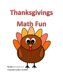 Thanksgiving Math Fun For Free