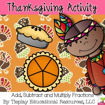 Thanksgiving Math Fractions