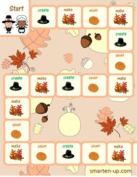 Thanksgiving Math Game to Practice Money Skills