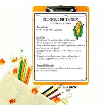 Thanksgiving Math Games Free