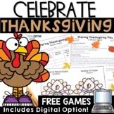Thanksgiving Math Games Google Slides